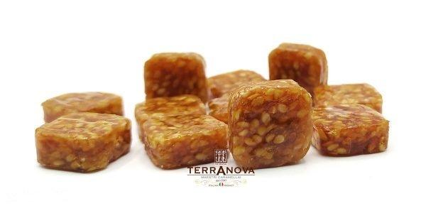 caramelle croccanti sesamo e miele terranova-glutenfree