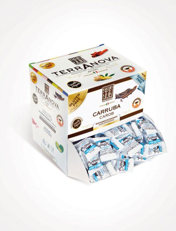 carruba-senza-zucchero-caramelle-artigianali-terranova-bocca-di-lupo-espositore-da-1kg