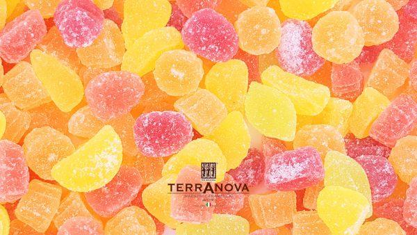 Caramelle Gelèe Terranova Tutti i frutti. Senza Glutine. 200gr