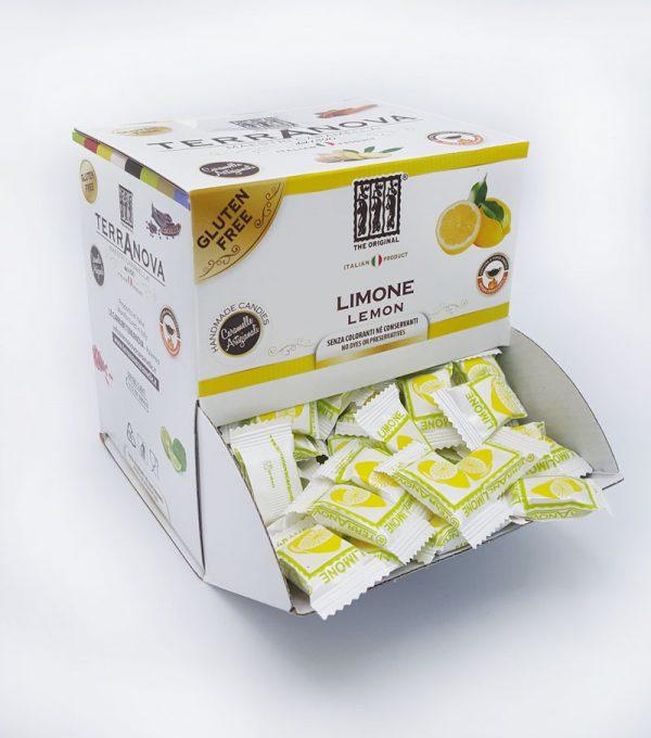 Caramelle artigianali al limone Terranova Senza Glutine