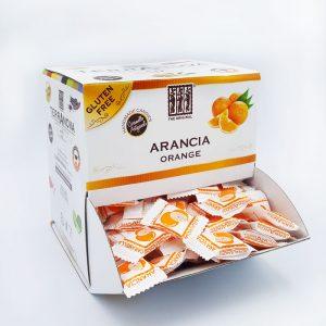 Caramelle artigianali all'arancia Terranova Senza Glutine