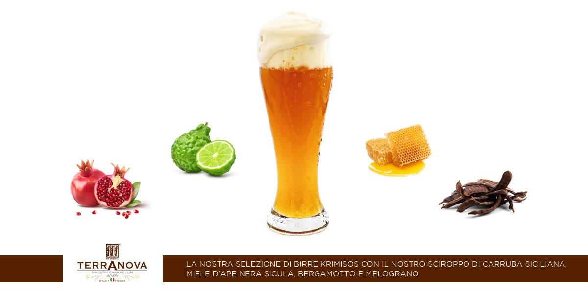 birre alla carruba melograno bergamotto miele siciliano