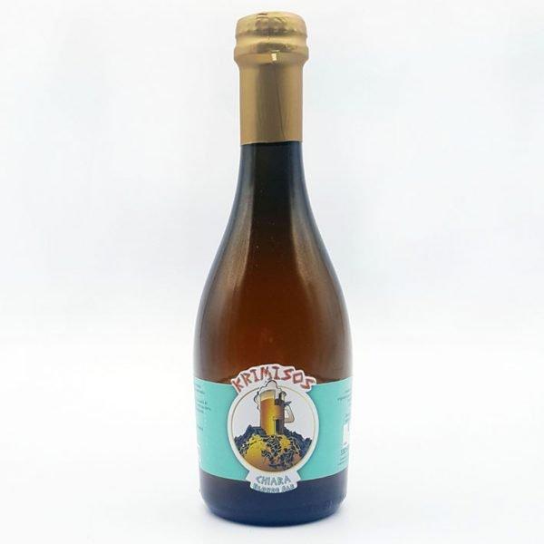 birre artigianali siciliane krimisos-chiara-con aggiunta di miele d'ape sicula