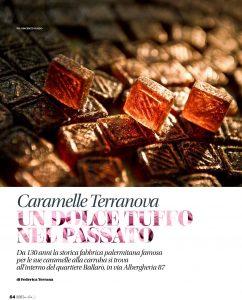 Caramelle Terranova. Un dolce tuffo nel passato- articolo pubblicato su i love sicilia